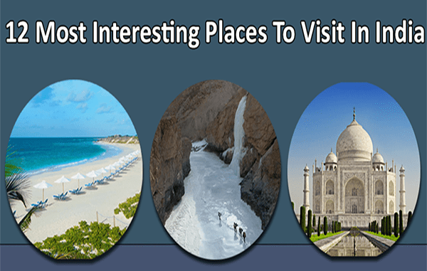 12 Most Interesting Places To Visit In India