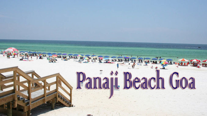 Panaji Beach Goa