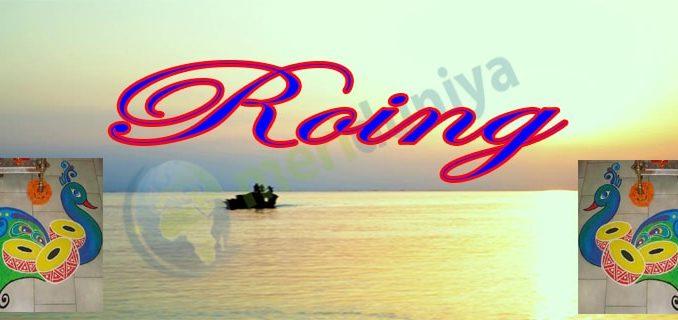 Roing photos