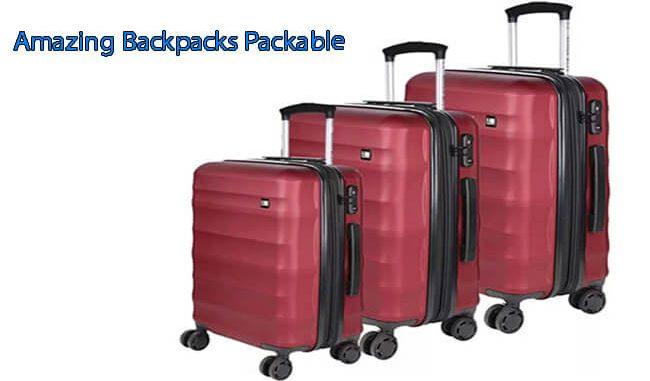 amazing backpacks packable