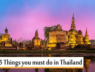 Top 5 Things Thailand